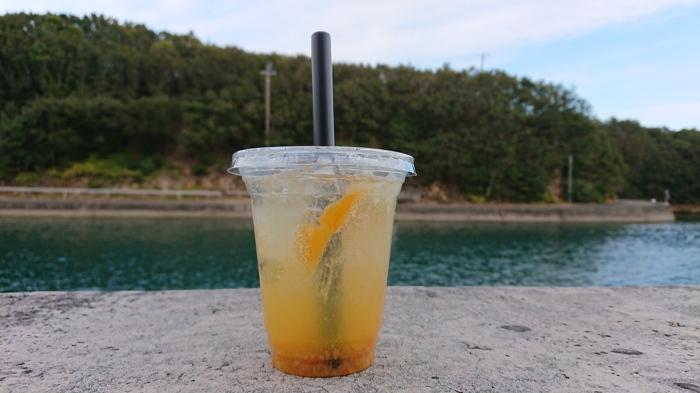 海とジュース