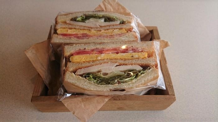 美味しそうなサンドイッチ