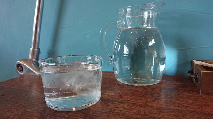 壁紙とグラス